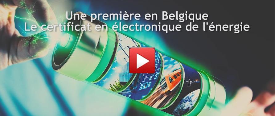 Certificat interuniversitaire en Electronique de l'Energie