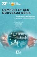 Couverture : Les enjeux de l'innovation : Quelles politiques ? Quelle gouvernance ?